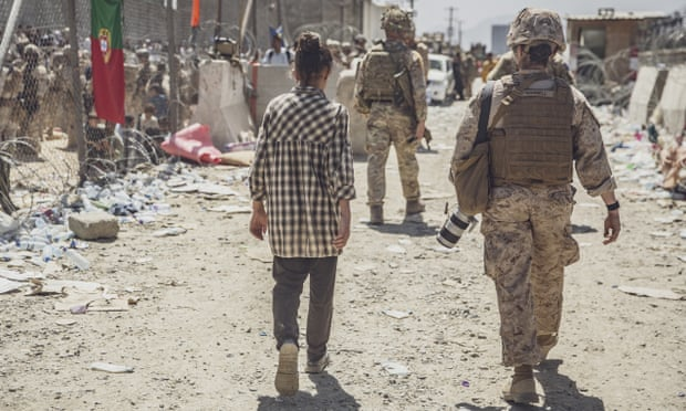 Afghanistan live news: US carries out drone strike against Islamic State; American citizens warned to leave Kabul airport gates 'immediately'