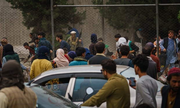 Afghanistan: reports emerge of Taliban beating Afghans seeking to flee Kabul Tobay