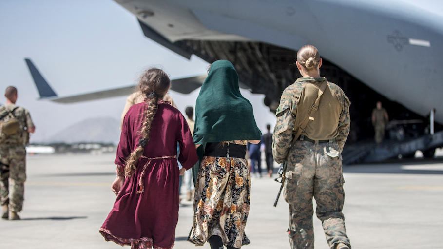 US embassy warns of 'specific, credible threat' at Kabul airport as Biden says terror attack 'highly likely in next 24-36 hours'