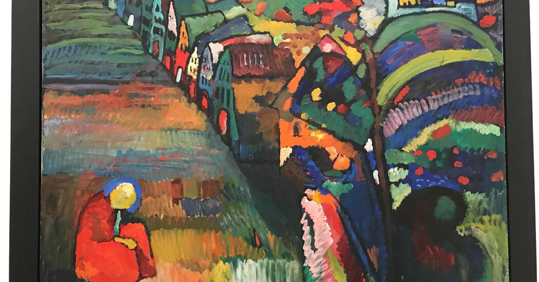 Amsterdam's Mayor Announces Talks With Jewish Heirs on Kandinsky Claim