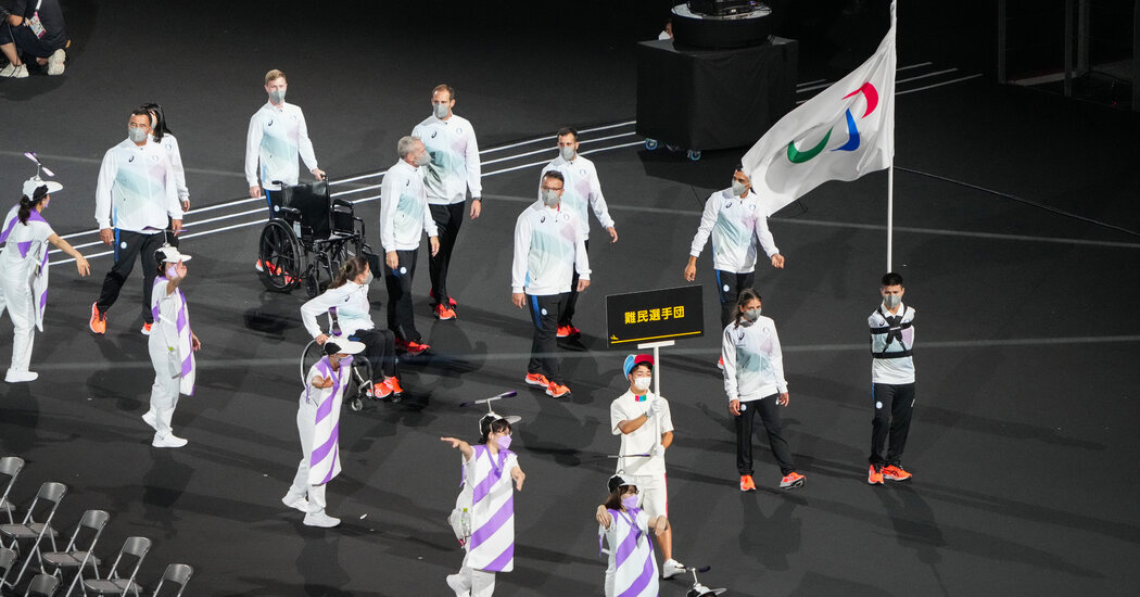 At the Paralympics, Refugees Lead Parade of Athletes