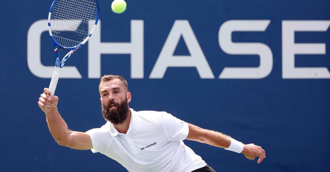 Benoit Paire Loses, But Scores a Victory Just by Playing