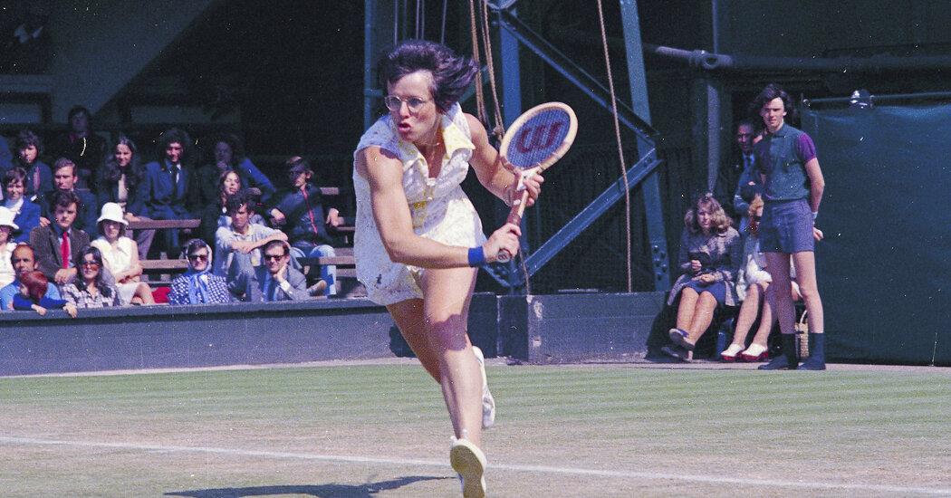 Billie Jean King: The First Female Athlete-Activist