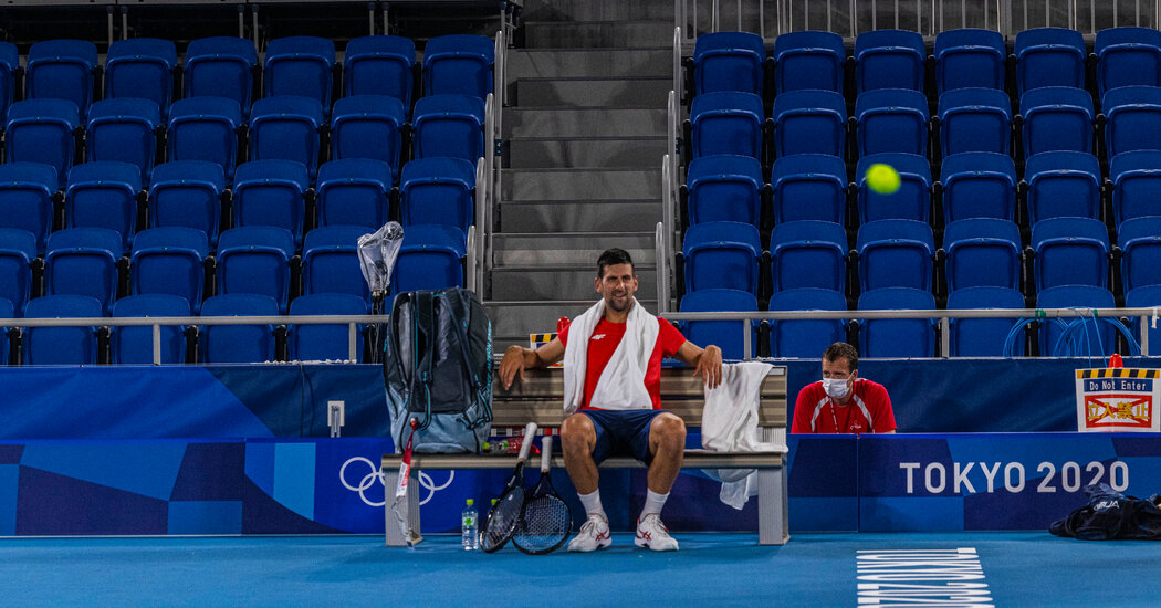 Grand Slam or Not, Novak Djokovic Knows His Role