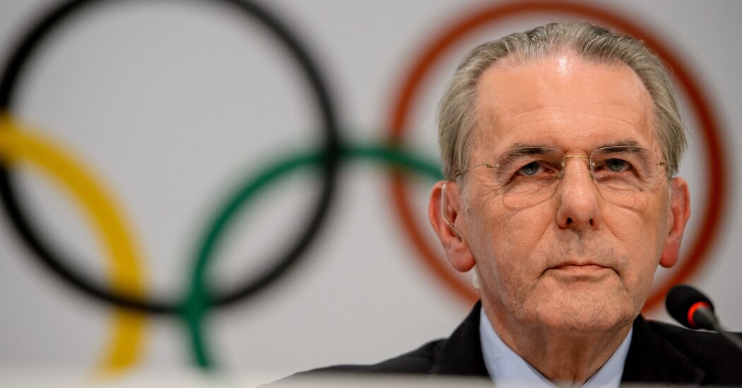 Jacques Rogge, Who Led Olympic Committee, Dies at 79