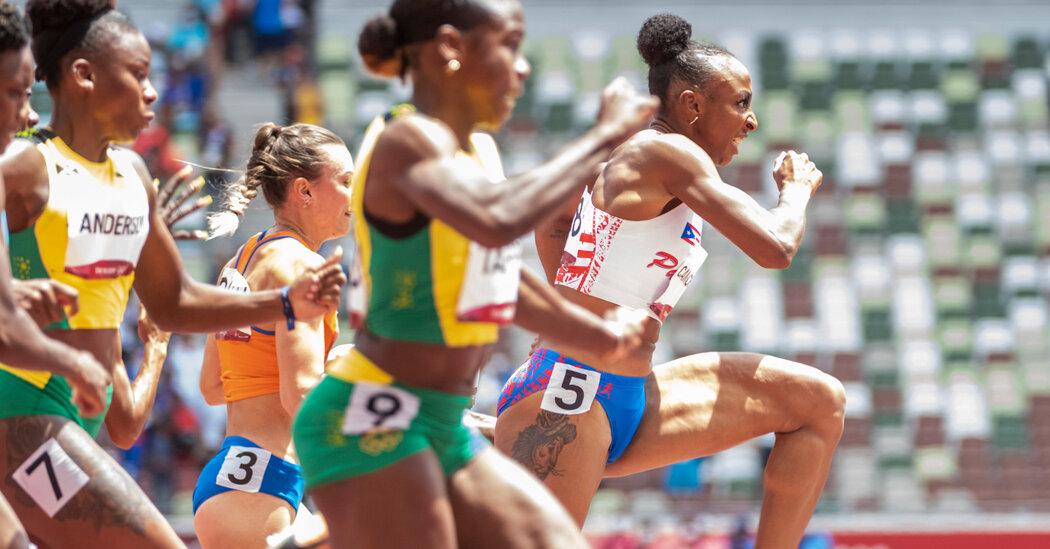 Jasmine Camacho-Quinn Gained the 100-Meter Hurdles