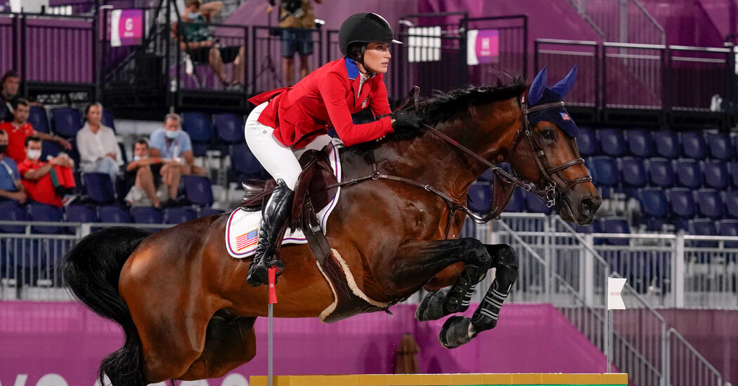 Jessica Springsteen Wins Silver Medal With U.S. Equestrian Present Leaping Workforce