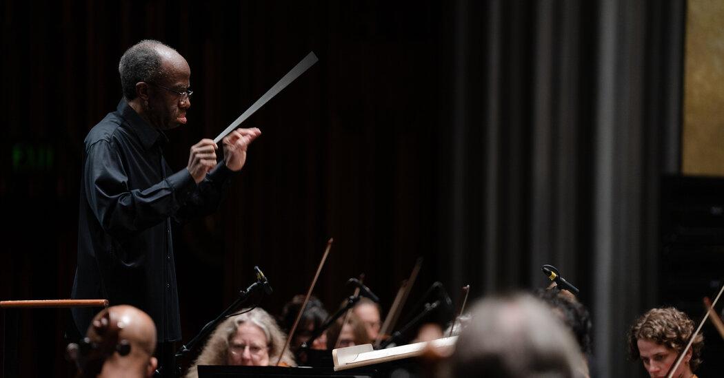 Michael Morgan, Adventurous Oakland Maestro, Dies at 63