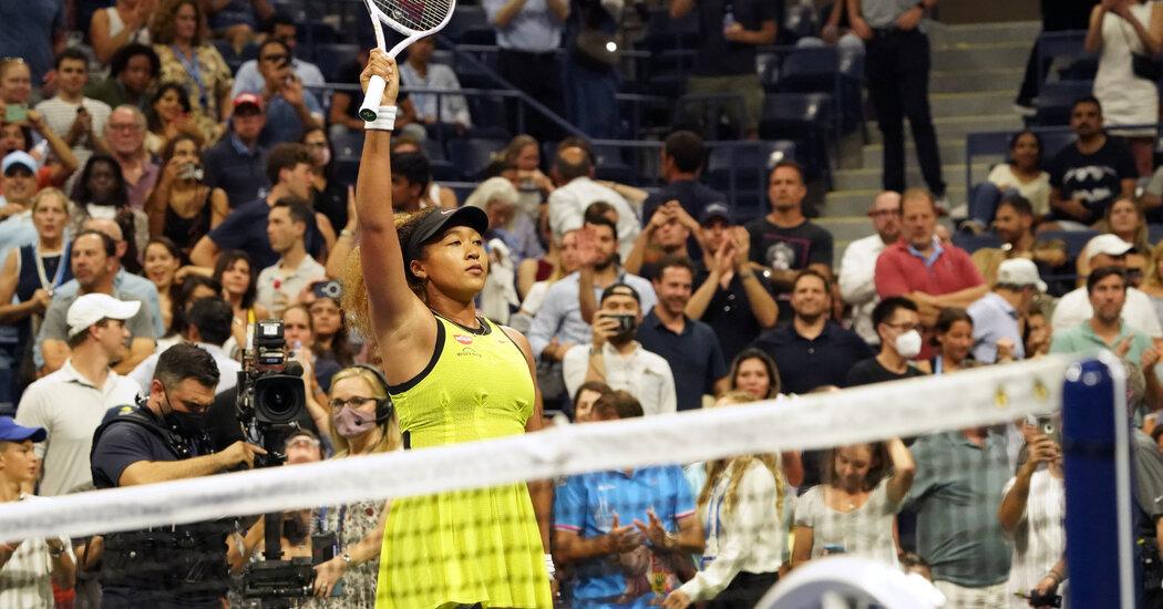 Naomi Osaka Wins Her First-Round Match at the U.S. Open