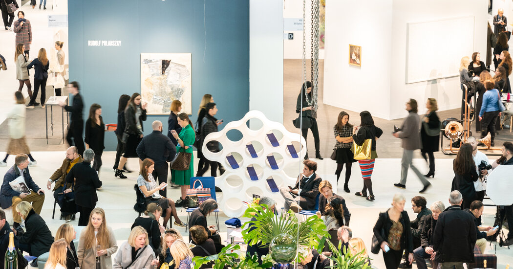 New York Art Fairs Are Returning, Eyes Open and Fingers Crossed
