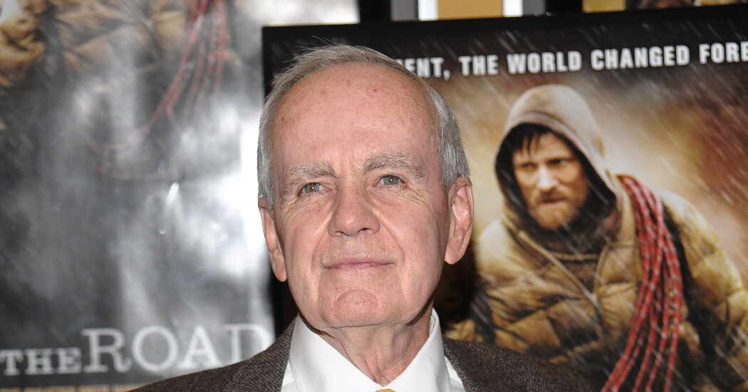 No, Cormac McCarthy Isn't on Twitter. Don't Be Fooled by the Test Mark.