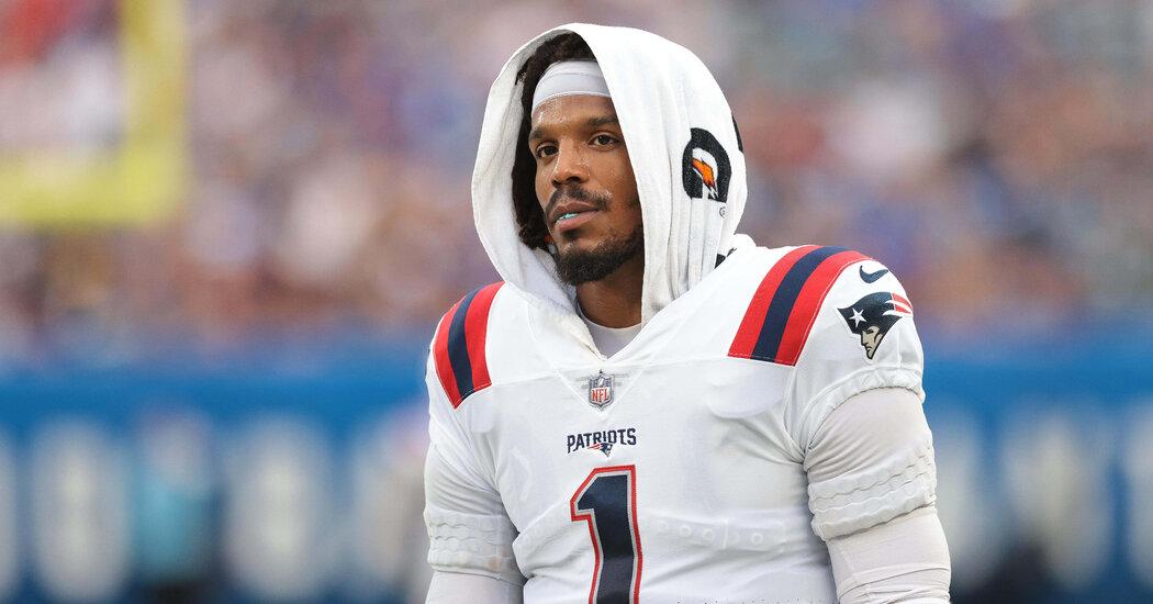 Patriots Cut Cam Newton, Choosing Rookie as Week 1 Starter