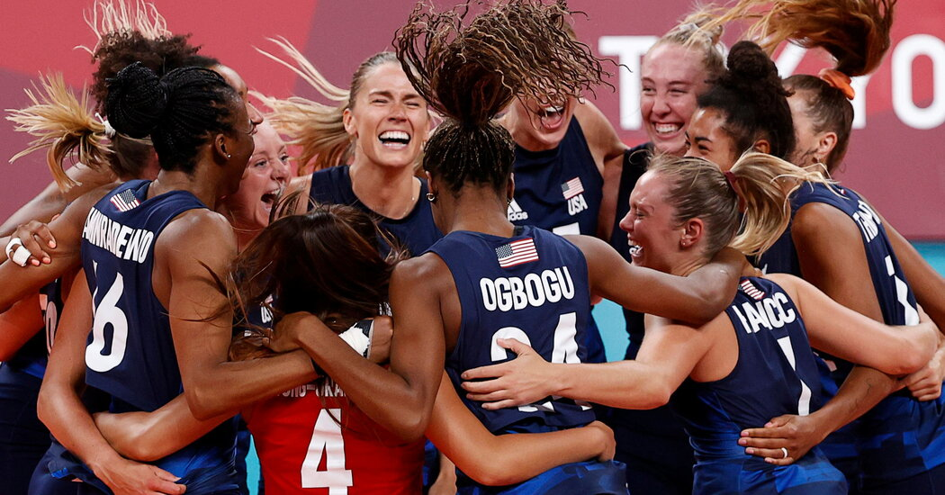 Aid and Redemption as U.S. Girls's Volleyball Group Will Play for Gold