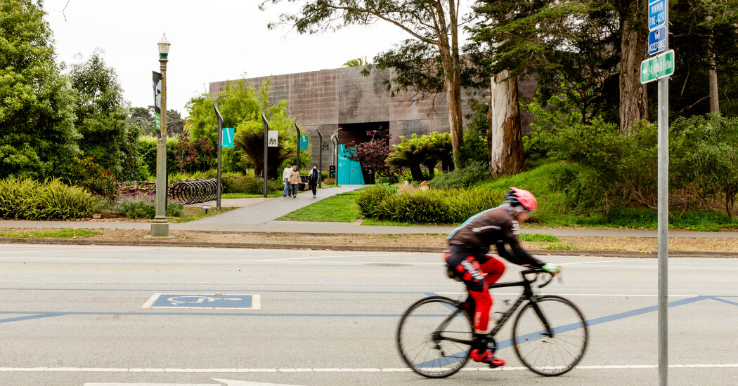 San Francisco's Cyclists Cheer a Highway Much less Traveled. Museums Mourn It.