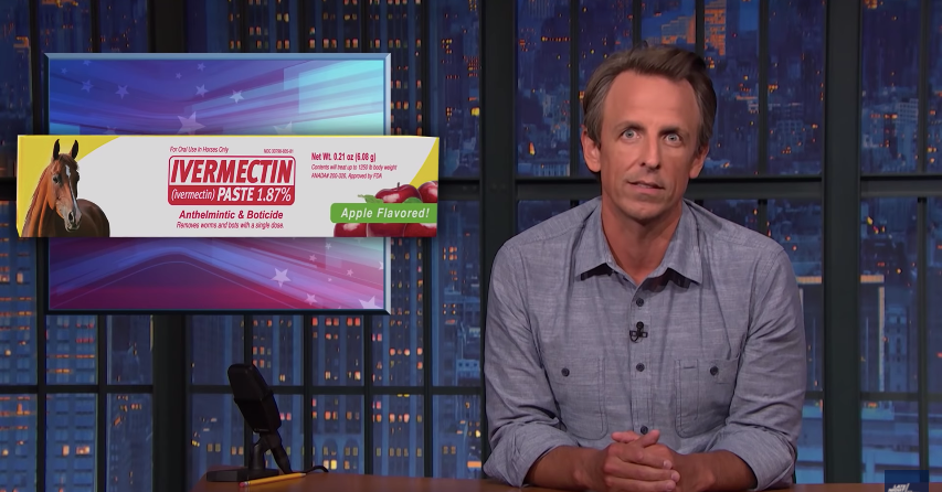 Seth Meyers Calls Out Fox News for Promoting Ivermectin
