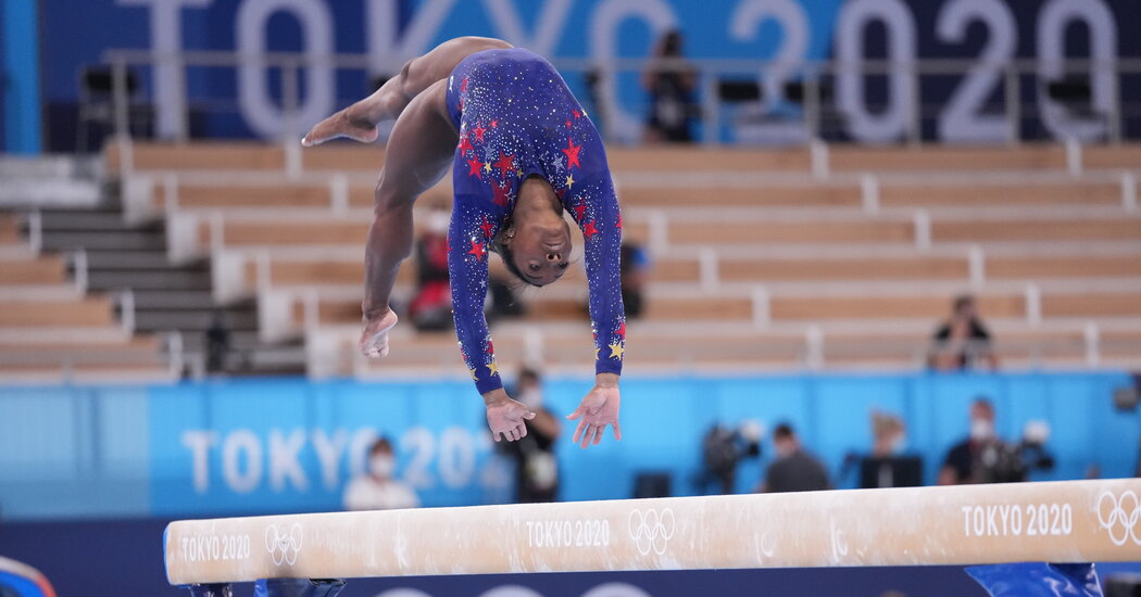 Simone Biles Will Compete, and Helped Jade Carey Put together for Gold