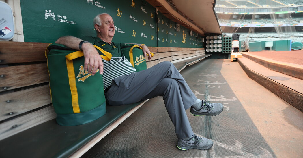 Steve Vucinich of the Oakland A's Is the Clubhouse Man Who Has Seen It All