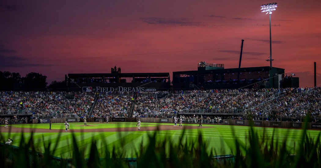 Tim Anderson Gives 'Field of Dreams' Game a Hollywood Ending