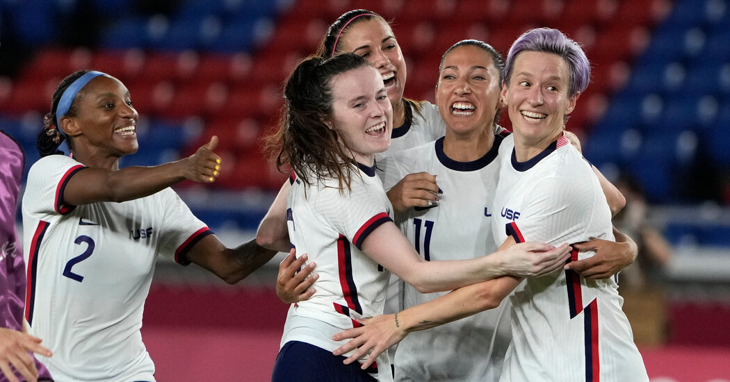 US Ladies Face Canada in a Soccer Semifinal on Day 10 of the Video games