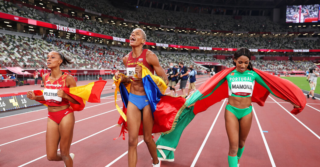 Venezuela's Yulimar Rojas Shatters Triple Bounce World File, First Feminine Gold Medalist from Nation