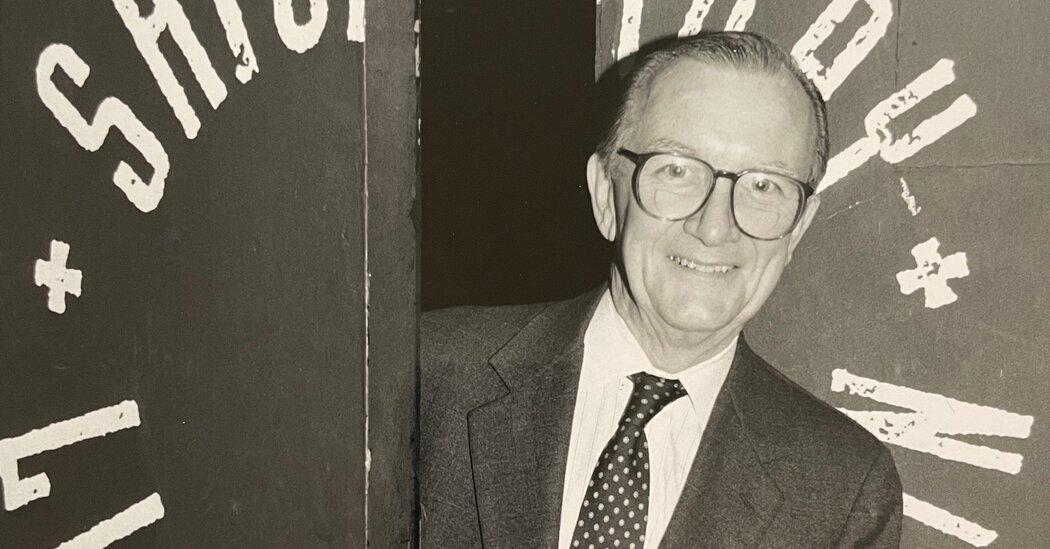 William G. Clotworthy, 'Saturday Night Live' Censor, Dies at 95