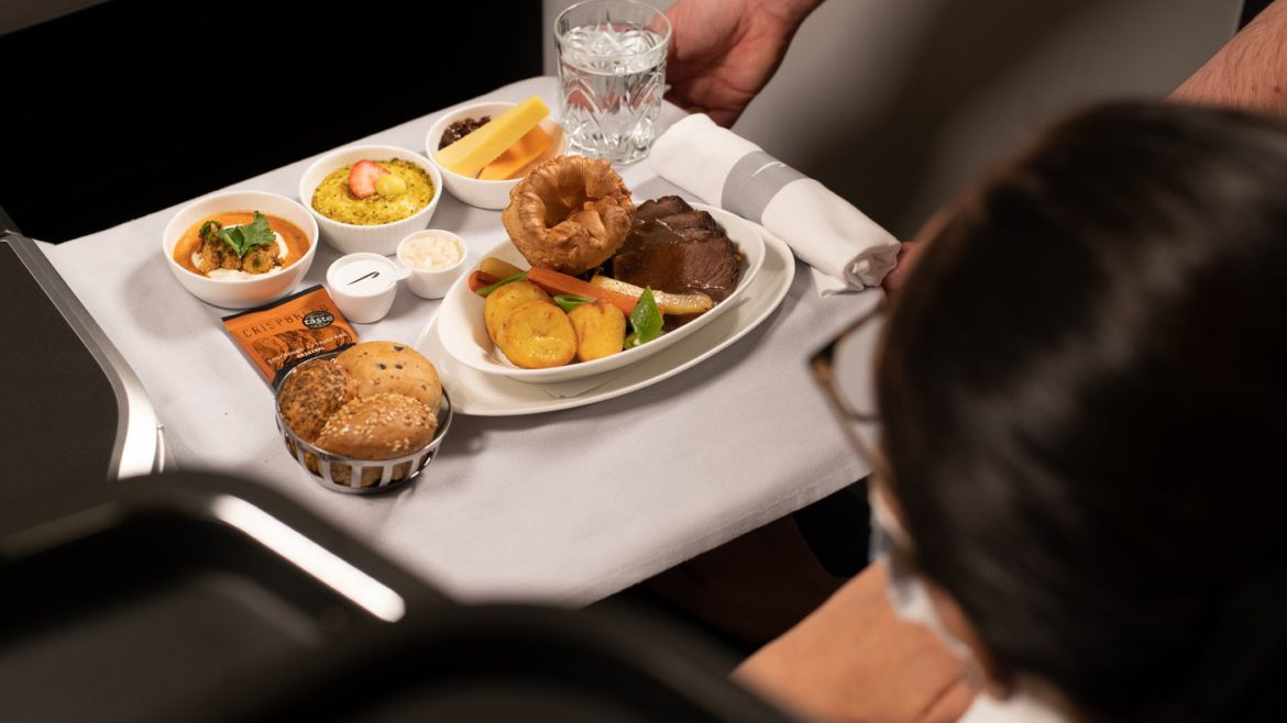 British Airways will soon serve roast dinners in Club World and First