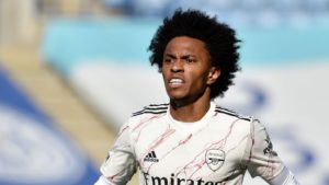 Arsenal manager Mikel Arteta reveals talks are ongoing with Willian over a possible exit from the club this summer.