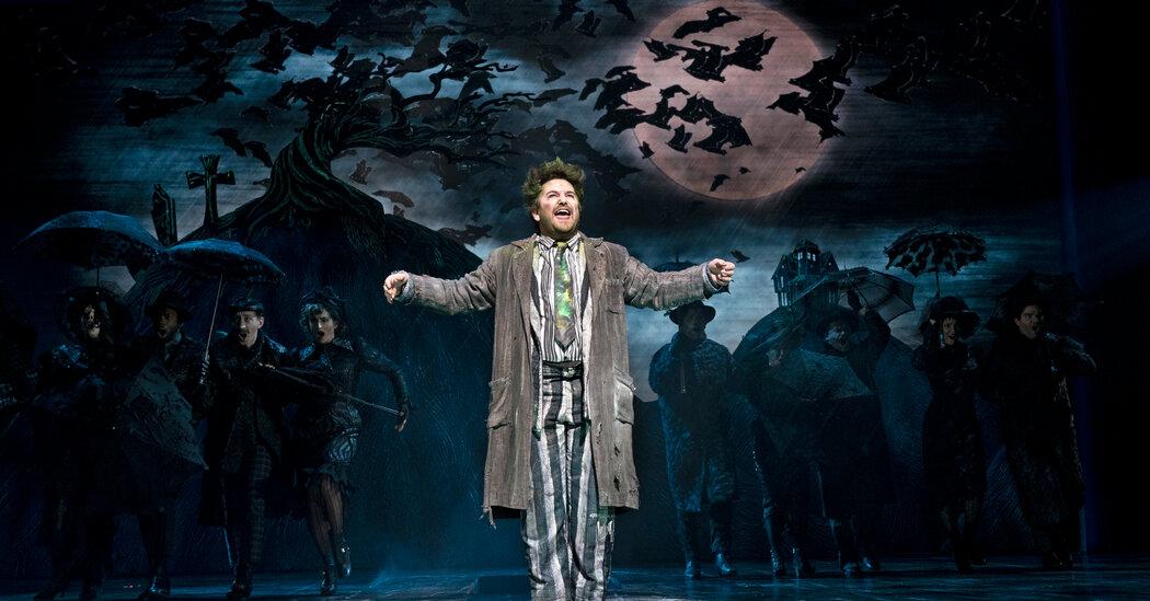 'Beetlejuice' Will Return to Broadway in April