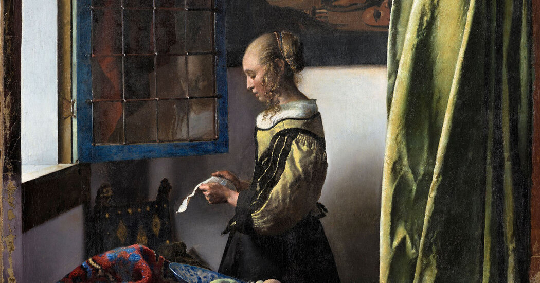 A Vermeer Restoration Reveals a God of Desire