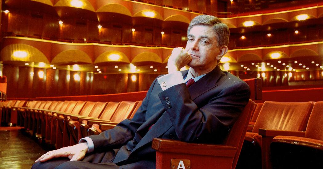 Alberto Vilar, Arts Patron Convicted of Fraud, Dies at 80