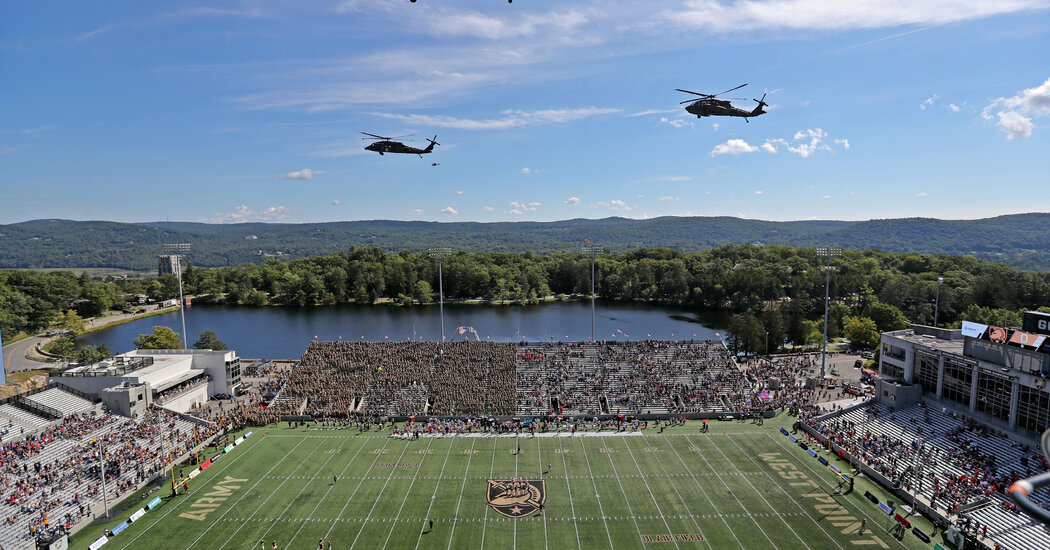 At Army Football Game, Sept. 11 Anniversary Lends Tone of Solemnity
