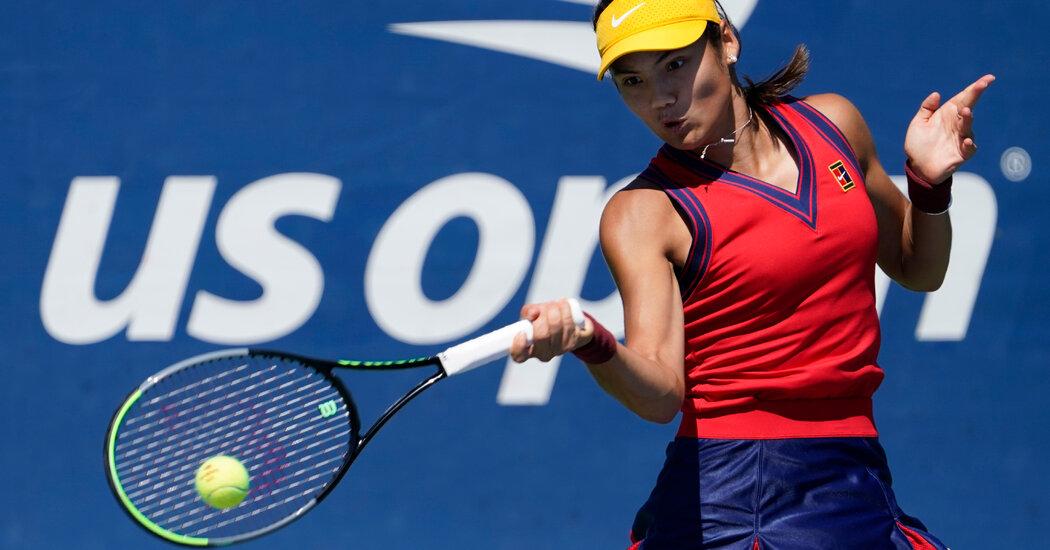 Carlos Alcaraz Upsets Stefanos Tsitsipas, Emma Raducanu Advances at the U.S. Open