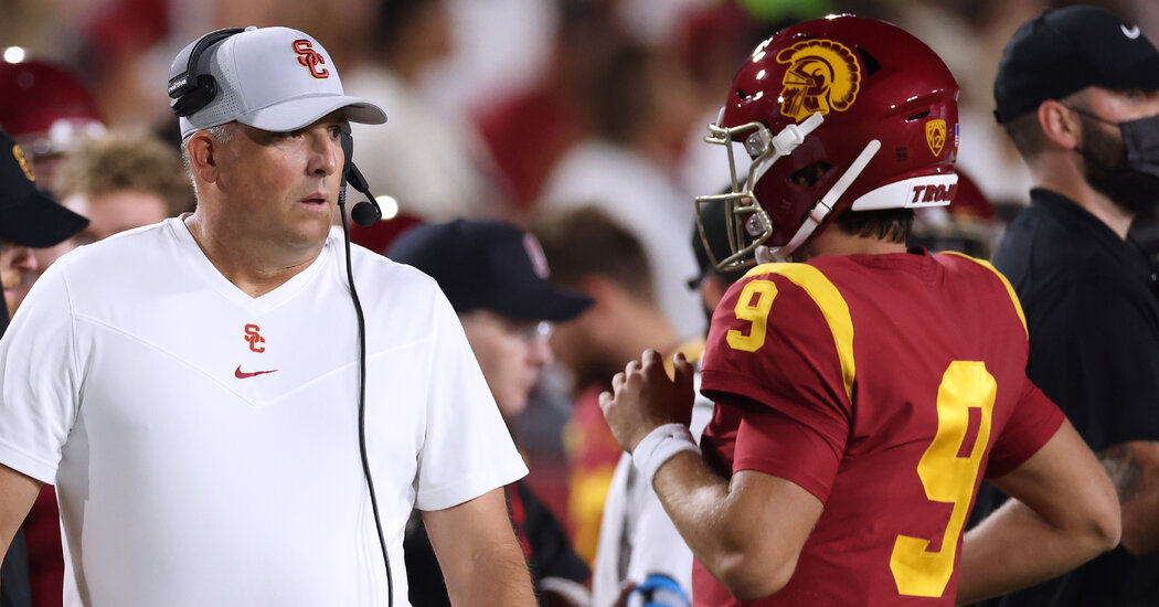 Considering Itself Outside the Title Picture, U.S.C. Fires Clay Helton