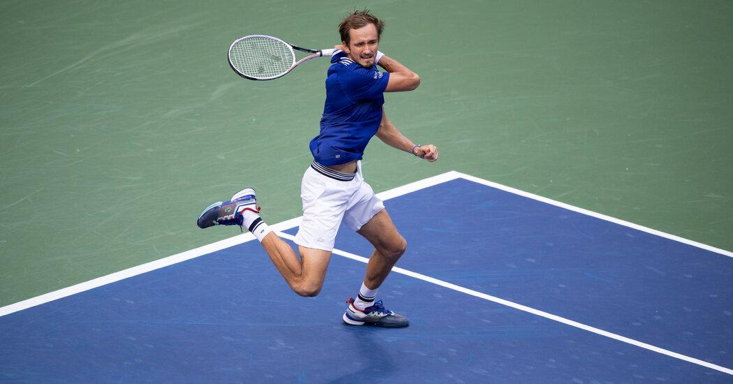 Daniil Medvedev Easily Advances to U.S. Open Men's Final