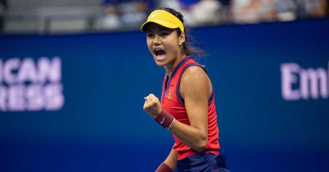 Emma Raducanu Beats Maria Sakkari to Advance to U.S. Open Final