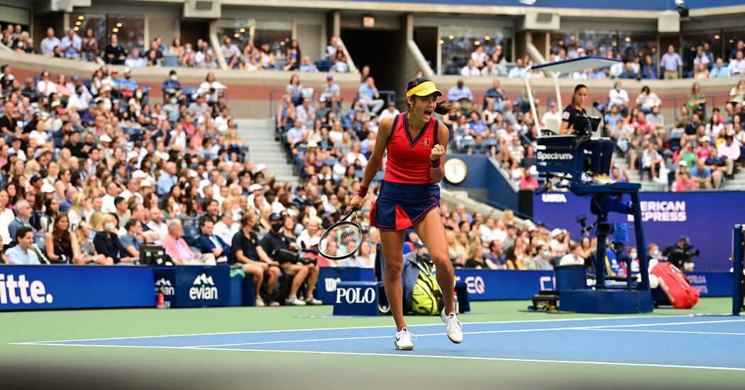 Emma Raducanu Wins First Set in U.S. Open Final