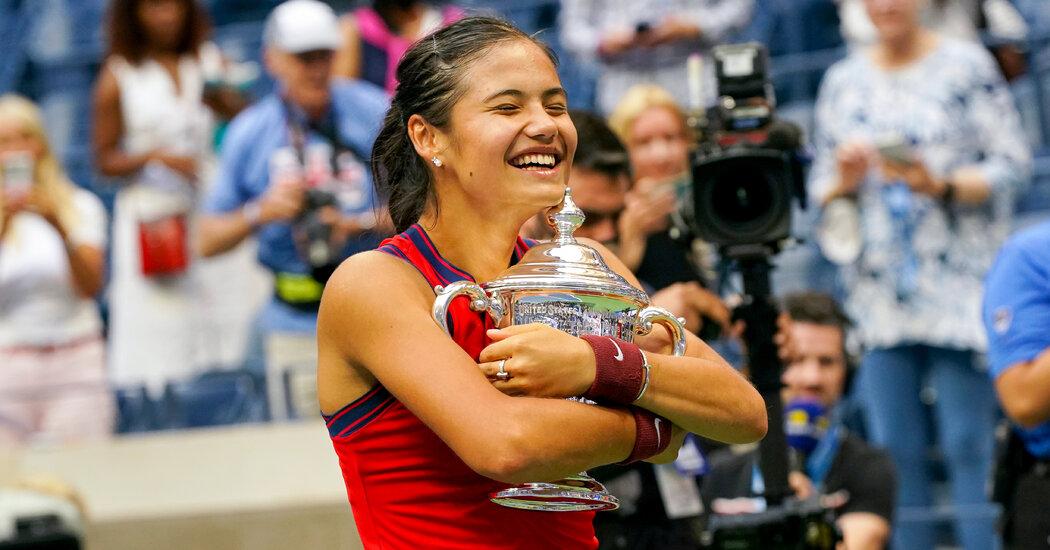 Emma Raducanu Wins U.S. Open Without Dropping a Set