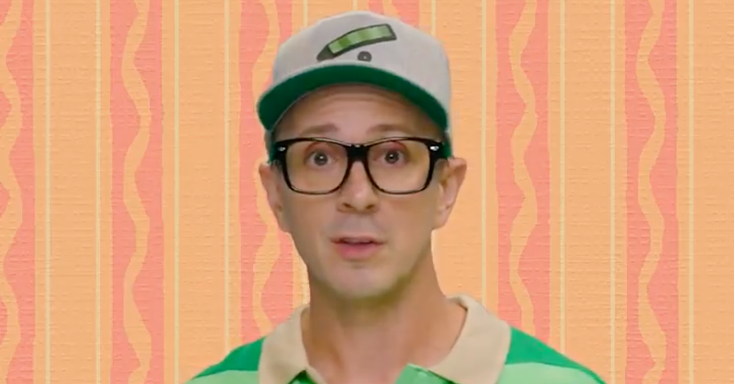 First Host of 'Blue's Clues' Returns, Striking a Chord With Grown-Ups