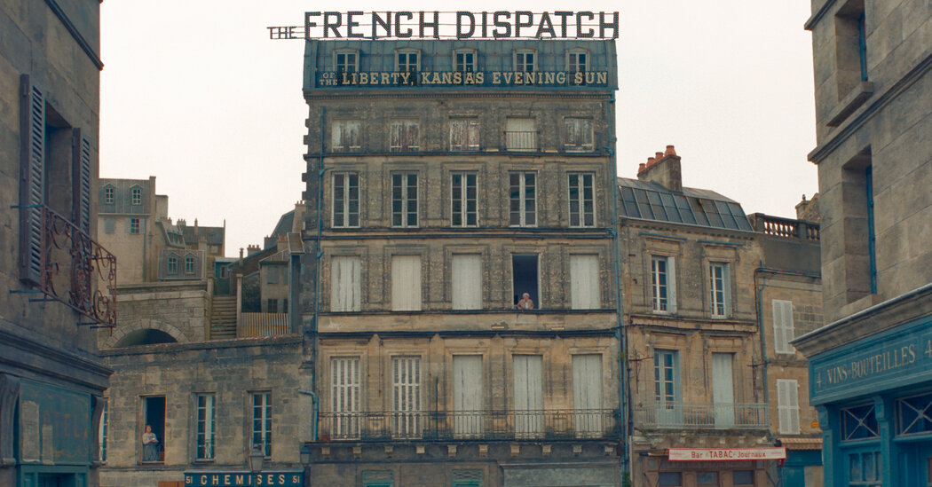 How 'The French Dispatch' Took Over a French Town