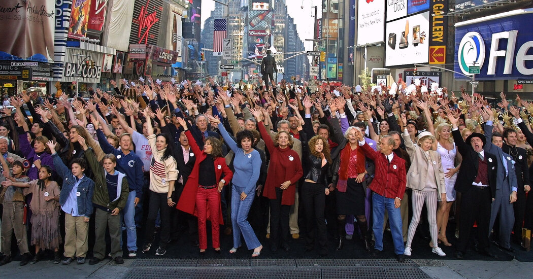How a TV Ad Enticed Broadway Crowds Right After 9/11