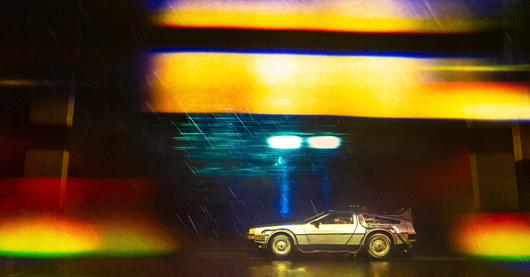 In 'Back to The Future: The Musical,' the Car Is the Star of the Show