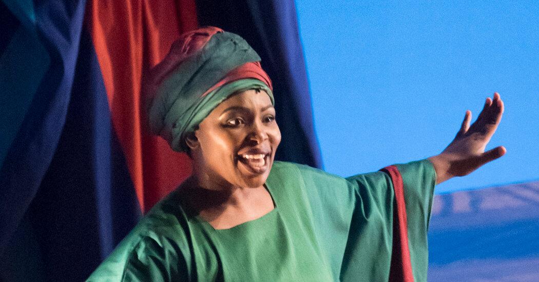 Lindiwe Dlamini Returns to 'The Lion King' Stage