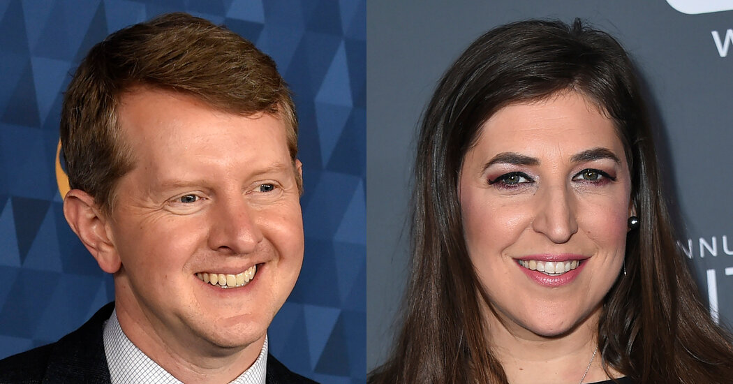Mayim Bialik and Ken Jennings to Host 'Jeopardy!' Through End of Year