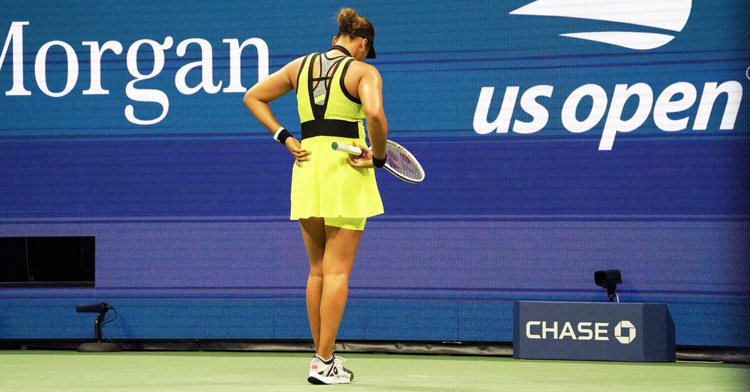 Naomi Osaka Loses to Leylah Fernandez at the U.S. Open