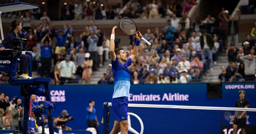 Novak Djokovic Beat Alexander Zverev, Will Play for Grand Slam at U.S. Open