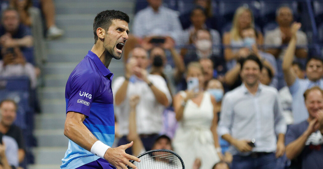 Novak Djokovic Is Ready for Another Fight