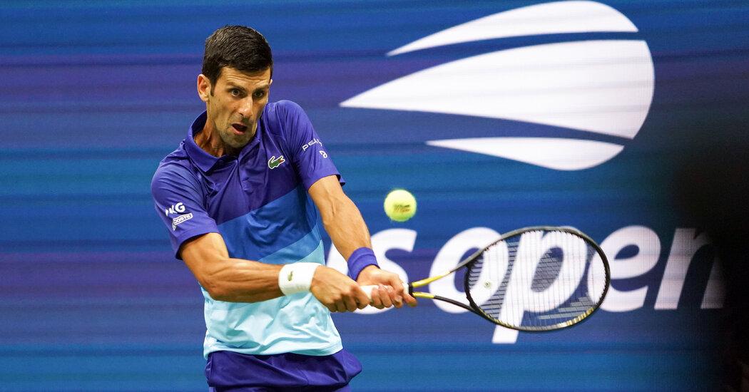 Novak Djokovic Wins His First-Round Match at the U.S. Open