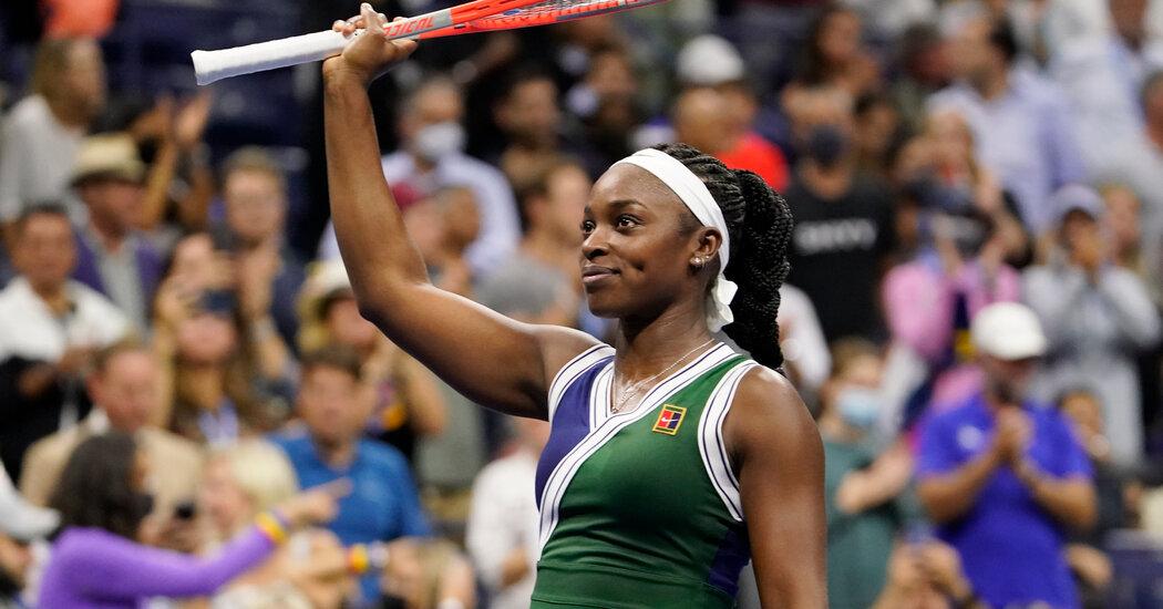 Sloane Stephens Beats Coco Gauff at the U.S. Open