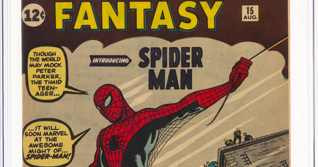 Spider-Man's First Comic Brings $3.6 Million, Likely a Record