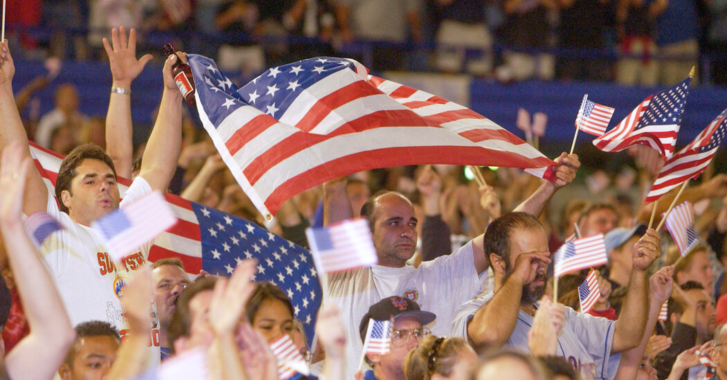 Sport's Post-9/11 Patriotism Seen as Unifier, and 'Manipulation'
